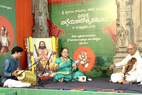 Bhadrachala Ramadasu 383 Jayanthi-Day1